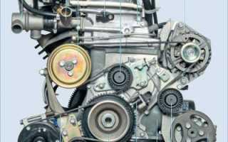 Устройство двигателя нива шевроле инжектор