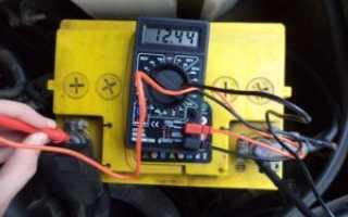 Минимальный заряд автомобильного аккумулятора