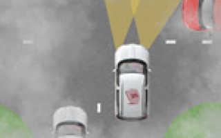 Расположение задних фонарей автомобиля
