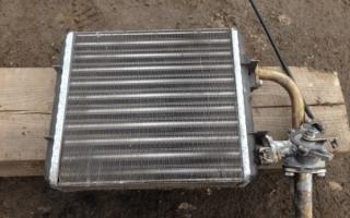 Прокладка радиатора печки ваз 2107