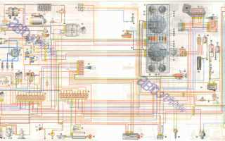 Электрическая схема газ 3302 двигатель 402
