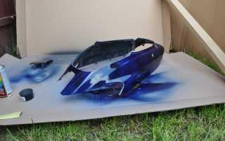 Технология покраски пластиковых деталей автомобиля