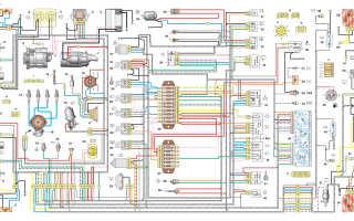 Схема электропроводки ваз 21213 карбюратор