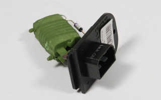 Резистор отопителя шеви нива