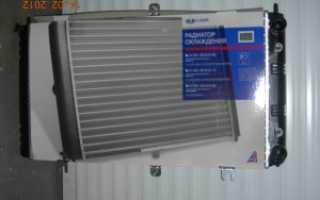 Радиатор системы охлаждения ваз 2110