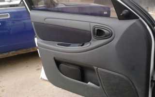 Шевроле ланос как снять обшивку передней двери