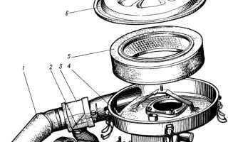 Крышка воздушного фильтра ваз 2109