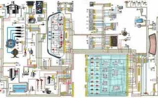 Схема проводки ваз 2110 европанель
