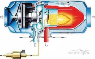 Виды и характеристики автономных автомобильных обогревателей