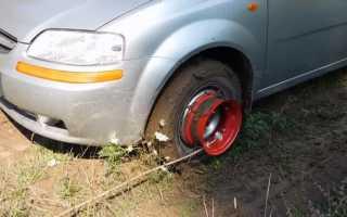 Самовытаскиватель на колесо уаз