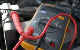Проверить ток утечки на аккумуляторе автомобиля мультиметром