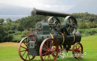 Первая машина с паровым двигателем