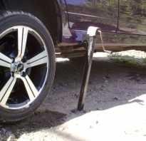 Порядок замены колеса автомобиля