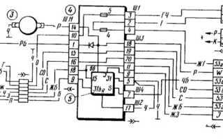 Электросхема омывателя лобового стекла ваз 2109