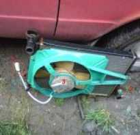 Радиатор от нивы на ваз 2106