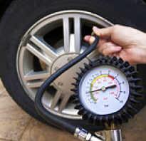 Оптимальное давление в шинах автомобиля таблица