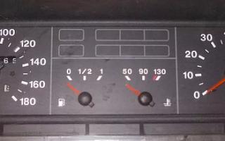 Не работает тахометр ваз 21099 карбюратор