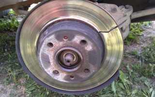 Почему греются диски передних колес