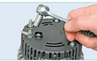 Ремонт генератора приора с кондиционером