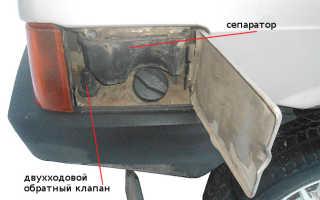 Патрубок бензобака ваз 21099