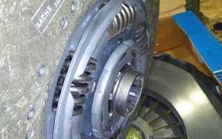 Установка диска сцепления на уаз