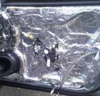 Шумоизоляция для дверей автомобиля