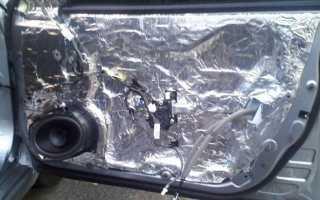 Как правильно сделать шумоизоляцию дверей автомобиля