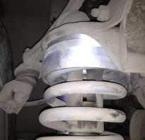 Проставки задних амортизаторов шеви нива