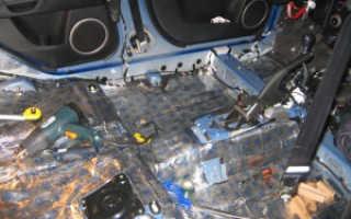 Какие материалы нужны для шумоизоляции автомобиля