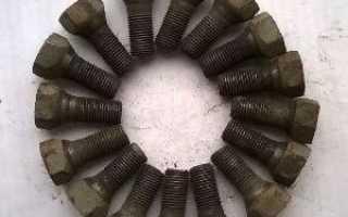 Болты и гайки для колес
