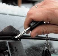 Чем смазывать двери автомобиля чтобы не примерзали