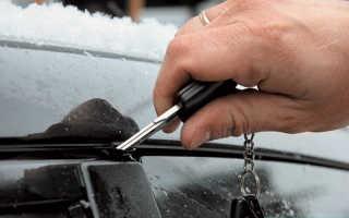 Смазка уплотнителей дверей автомобиля