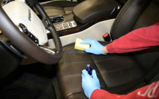 Чем чистить салон машины