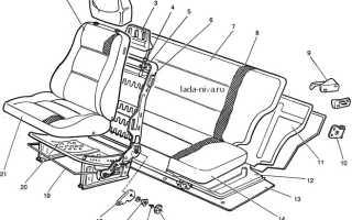 Крепление сидений нива 21213
