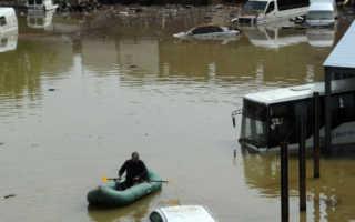 Сушка салона автомобиля после затопления