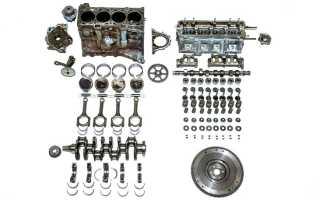 Стоимость капремонта двигателя приоры