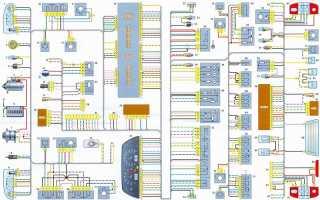 Электросхема шеви нива 2123
