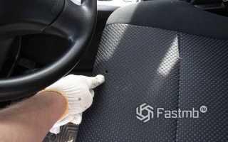 Ремонт кожаного сиденья автомобиля своими руками