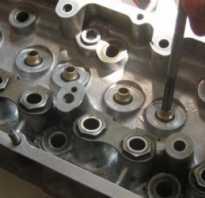 Замена направляющих втулок клапанов ваз 2109