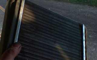 Радиатор отопителя калина с кондиционером