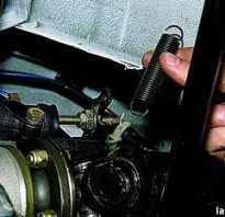 Замена рабочего цилиндра сцепления ваз 21213
