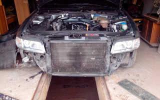Почему холодный радиатор при заведенном двигателе