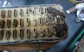 Чем промыть снятый радиатор автомобиля изнутри