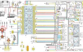 Электросхема ваз 21074 карбюратор с описанием