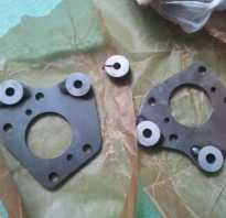 Установка тормозных дисков на задние колеса