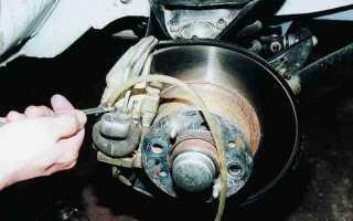 Ремонт тормозной системы ваз 2110