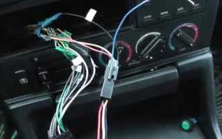 Фонит магнитола при заведенном двигателе что делать