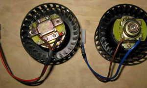 Электродвигатель отопителя ваз 2109 характеристики