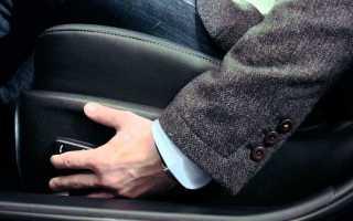 Как правильно настроить сидения в автомобиле