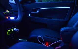 Как подключить подсветку двери автомобиля